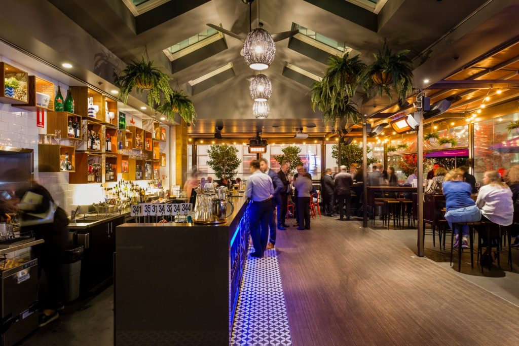 rooftop Christmas party venues