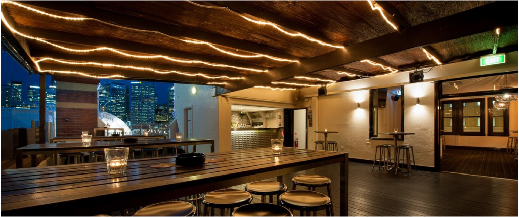 The Rooftop Terrace – Pyrmont Bridge Hotel